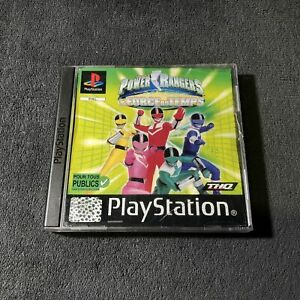 PS1-Power-Rangers-La-Foce-Du-Temps-FRA-Bon-etat