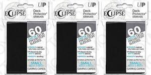 180-Ultra-Pro-Matte-ECLIPSE-BLACK-Small-Mini-Deck-Protector-Card-Sleeve-85386