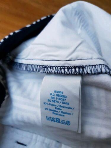 Boden LADIES GORGEOUS Richmond Navy Striped Shorts WJ044 BRAND NEW.