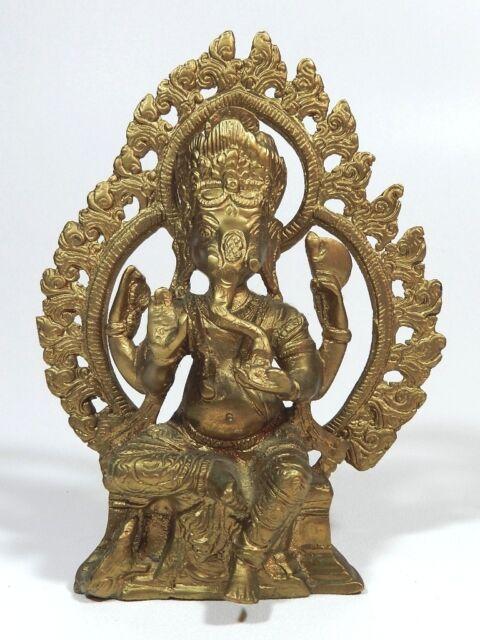 Bronze Ganesha Statue Ganesh Lord Elephant