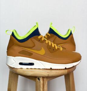 Nike Air Max 90 Ultra Mid Winter Desert Ochre 924458 700 Size 11 ...