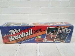 1993 Topps Baseball Factory Sealed Complete Set 825 cards Series 1&2 MLB Jeter