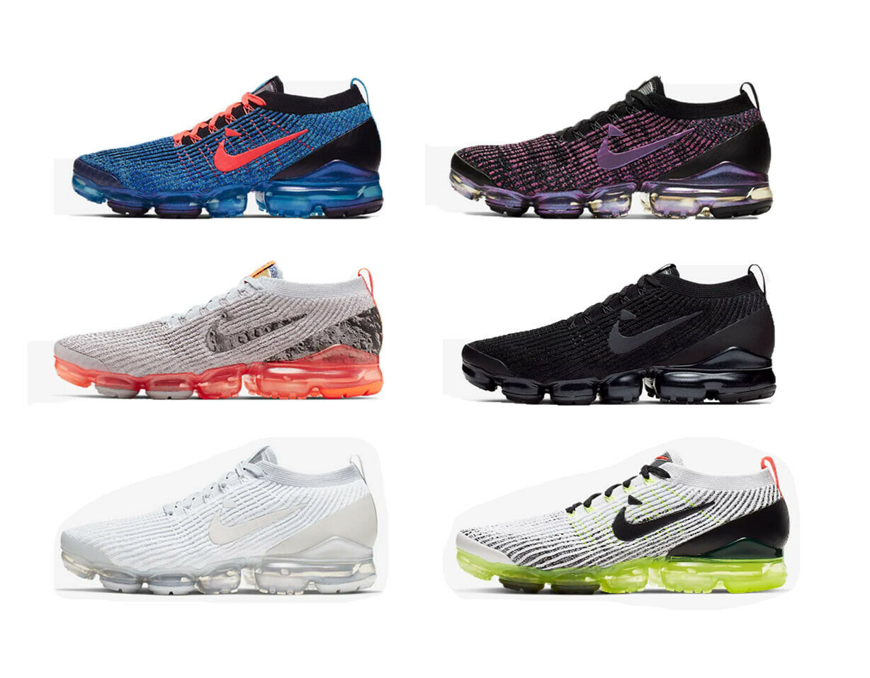 69e5ce5c37ee6 2019 Men s Air VaporMax Flyknit 3 Sneakers Running Sports Designer Trainer  Shoes