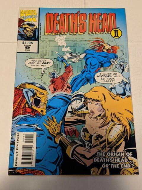 Death's Head 2 II #9 August 1993 Marvel Comics
