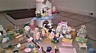 LOT OF CALICO CRITTERS FAMILIES HOUSE & FURNITURE-  NON SMOKING HOME