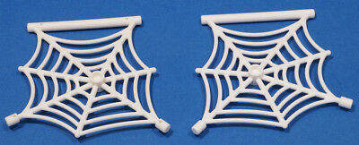 NEW pack of 2 Lego Spider web With Bar In White 90981