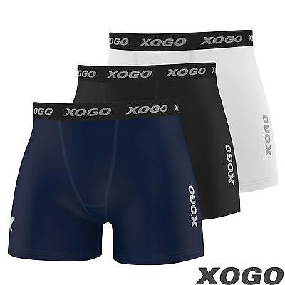 Men Compression Base Layer Shorts Under Skins Briefs Pants Boxer Pro Running Gym