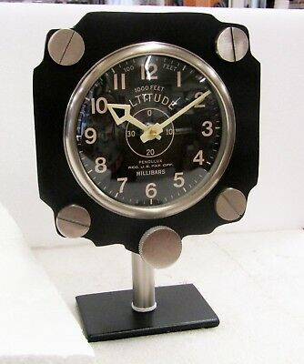 Adaptable Pendulux Altimeter Table Clock - Tcalmbk Materialen Van Hoge Kwaliteit