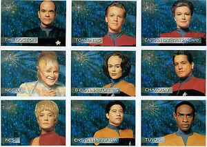 STAR-TREK-VOYAGER-SEASON-1-Individual-SPECTRA-Grabado-Tarjetas