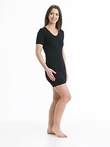 813ffff3597553 Image is loading Vedonis-Seamless-Brushed-Thermal-Short-Sleeve-Camisole-M-L-