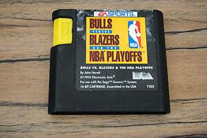 Jeu-BULLS-VS-BLAZERS-NBA-pour-Sega-MEGA-DRIVE-MD-cartouche-seule