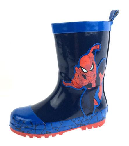 Spiderman Wellington Boots Kids Marvel Snow Rain Boots Wellies Shoes Kids Size