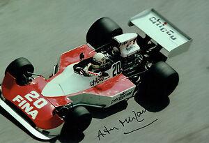 Arturo-MERZARIO-SIGNED-Williams-Cosworth-MONACO-12x8-Photo-AFTAL-COA-Autograph