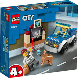 LEGO-City-60241-Polizeihundestaffel-NEU-amp-OVP