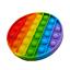 thumbnail 15 - Push Pop it Rainbow New Silicone Sensory Fidget Toy Pop Bubble Stress Relief
