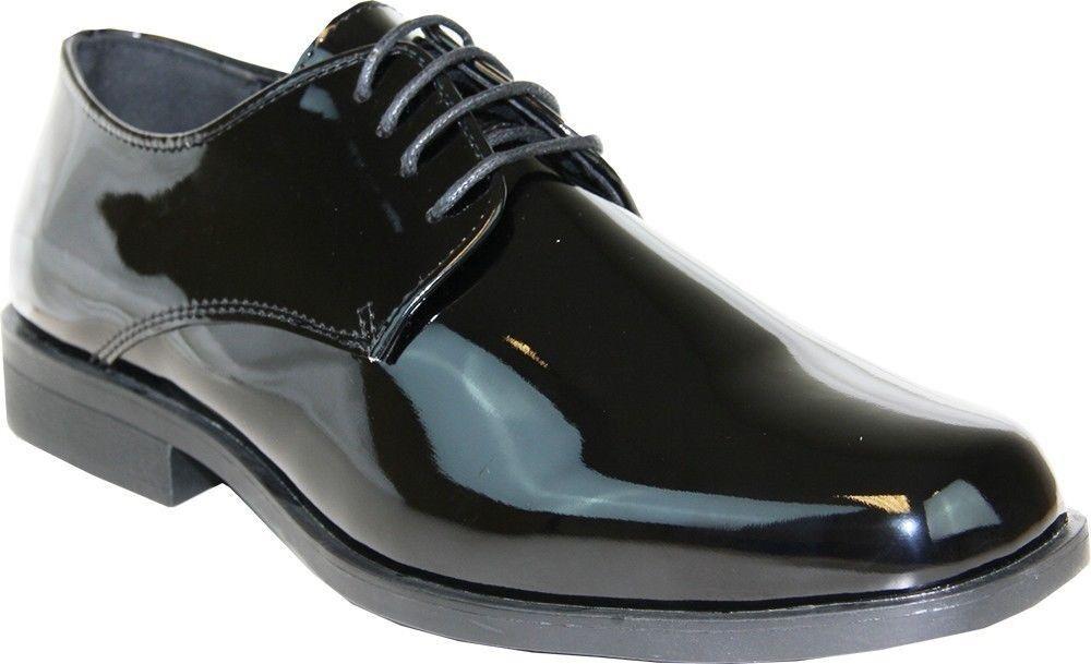 marchio in liquidazione VANGELO  TUX-1 Dress Tuxedo Tuxedo Tuxedo For Wedding Prom Wrinkle Free nero Patent Dimensione 13W  acquistare ora