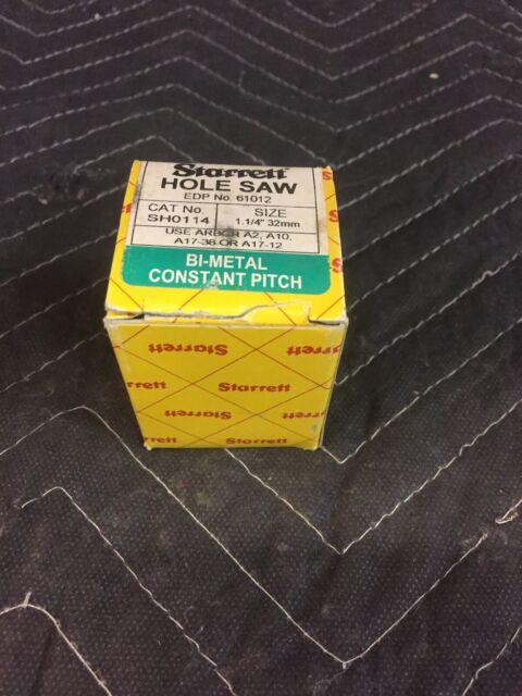 Starrett 32mm holesaw sh0114 BI METAL