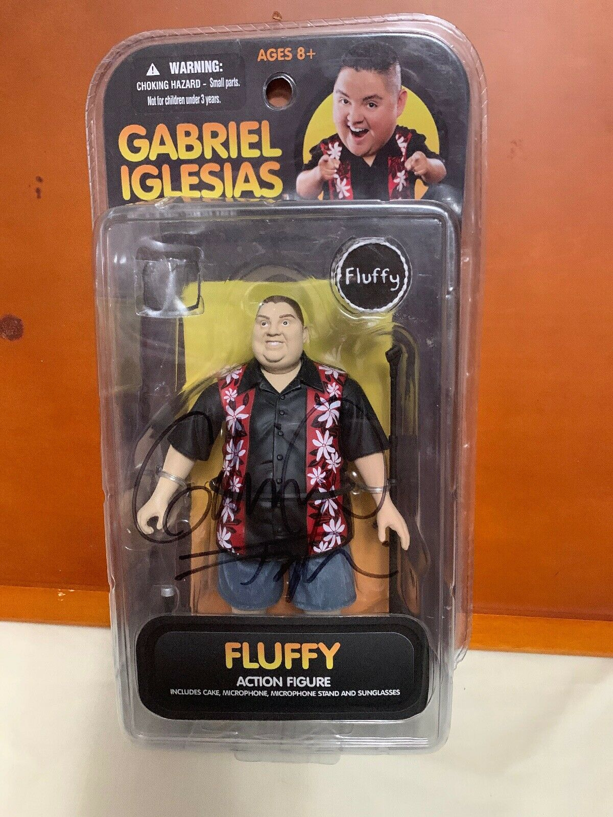 Gabriel Iglesias Fluffy azione cifra Autographed