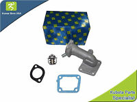 Kubota Water Flange & Thermostat With Gaskets L2950dt L2950f