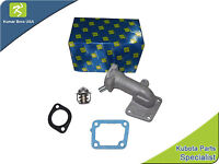 Kubota Water Flange & Thermostat With Gaskets L2600dt L2600f