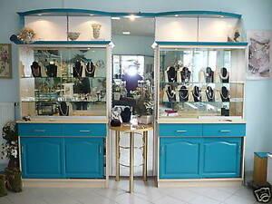 ausgefallene ladeneinrichtung ladenausstattung vitrine regal m bel spiegel. Black Bedroom Furniture Sets. Home Design Ideas