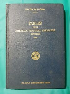 tables-from-american-practical-navigator-bowditch-1958-1962-Corrected-Reprint