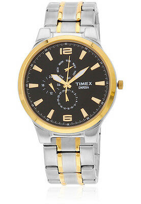 TIMEX Analog Gold-Steel Chain Multi Dials Formal Watch for Mens TI000K10700