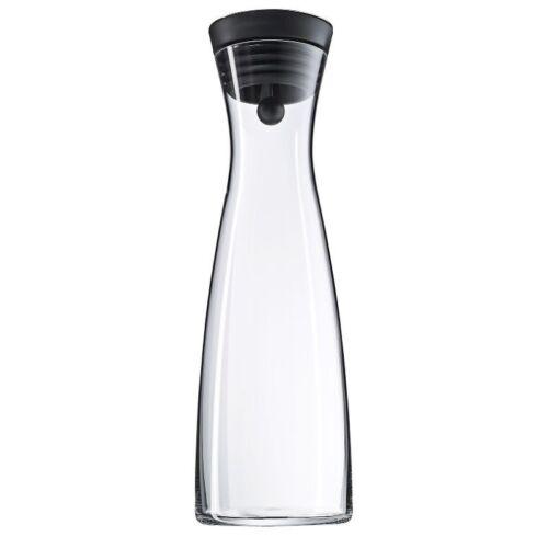 WMF Wasserkaraffe Basic 1,5l schwarz Glaskaraffe Karaffe Wasserflasche Krug NEU