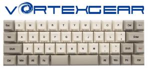 Vortex RGB Core Cherry MX Blue Switches 40% Mechanical Keyboard UK Layout