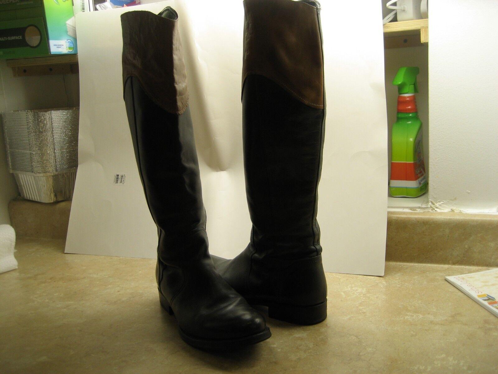 Corvari donna Olive verde leather stivali Dimensione 41