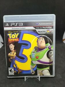 Disney Pixar Toy Story 3 Game (Sony PlayStation 3, PS3, 2010) Complete