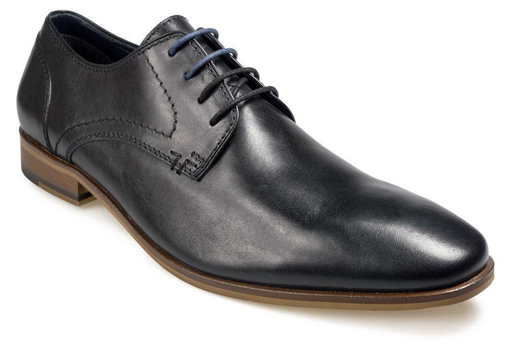 Paul O'Donnell Hombre Boston Zapato elegante con cordones - Boston Hombre 2 NEGRAS 00e8fa