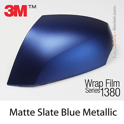 New Ser Car Wrapping Copertura Film Opaco Ardesia Blu Metallizzato 3M 1380 M287