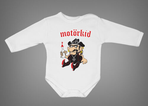 Motorkid Motorhead baby all sizes Lemmy bodysuit funny onepiece rock newborn