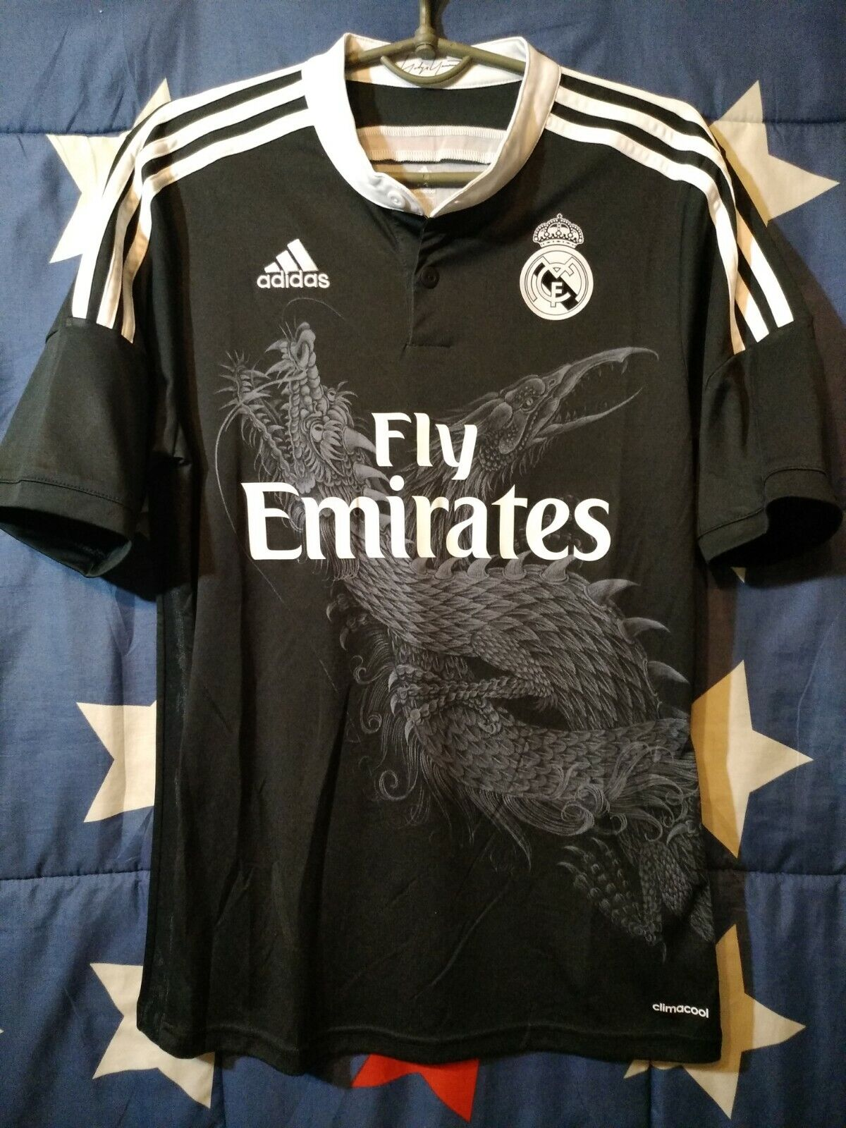 Größe S Real Madrid Spain 2014-2015 2014-2015 2014-2015 Third Football Shirt Adidas Yohji Yamamoto 09d2f4