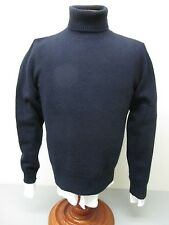 Polo by Ralph Lauren Thick Butter Soft Cashmere Blend Navy Turtleneck Sweater M