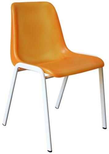 blau orange, grün BESUCHERSTUHL ESSZIMMERSTUHL PRAXISSTUHL Stühle weiss pink