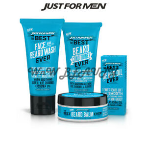 Details about JUST FOR MEN The Best Beard Wash, Conditioner, Oil, Balm Mix  & Match