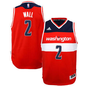72424f747f37 Image is loading John-Wall-Washington-Wizards-Youth-Swingman-Adidas-Jersey-
