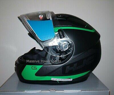 HJC CS-R3 Dosta Snow Helmet w//Dual Lens All Sizes Black//Grey