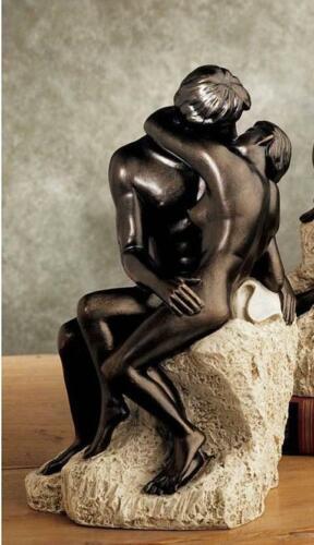 "Design TOSCANO /""THE KISS/'s par Rodin Home//Garden Statue Ornement"
