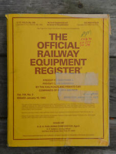 Huge-Reference-Book-Official-Railway-Equipment-Register-Vol-108-No-3-1993