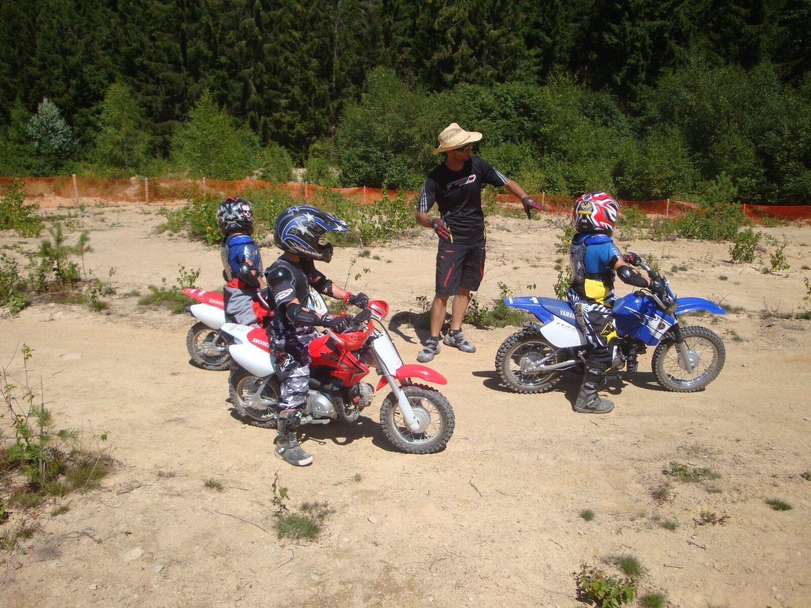 Motocross Einsteigertraining für Kinder MX Schnupperkurs