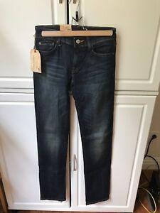 DENIM-amp-SUPPLY-Ralph-Lauren-Straight-Leg-Jeans-Aurora-Wash-Sz-26