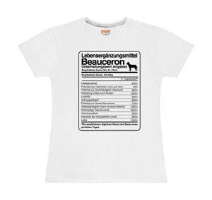 T-Shirt-Damen-DOSIS-BEAUCERON-Lebenserganzungsmittel-by-Siviwonder
