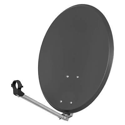 opticum sat antenne spiegel sch ssel qa 80 80cm f r dvb s hdtv digital anthrazit ebay. Black Bedroom Furniture Sets. Home Design Ideas