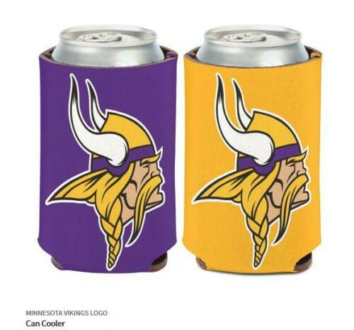 Minnesota Vikings LOGO dosi RADIATORE NFL FOOTBALL can COOLER