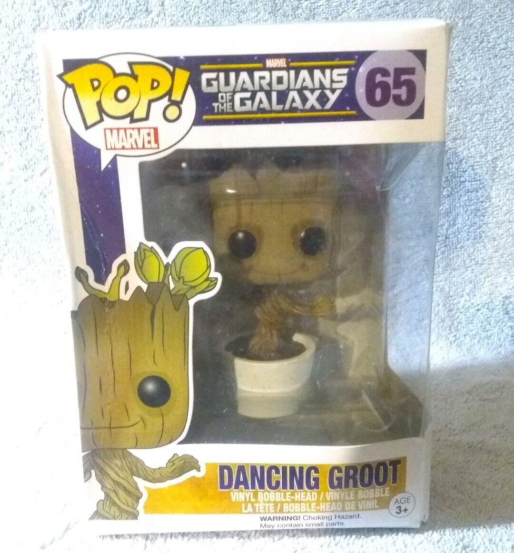 Pop Marvel Guardians of the Galaxy 65 Dancing Groot Figure Funko 051044