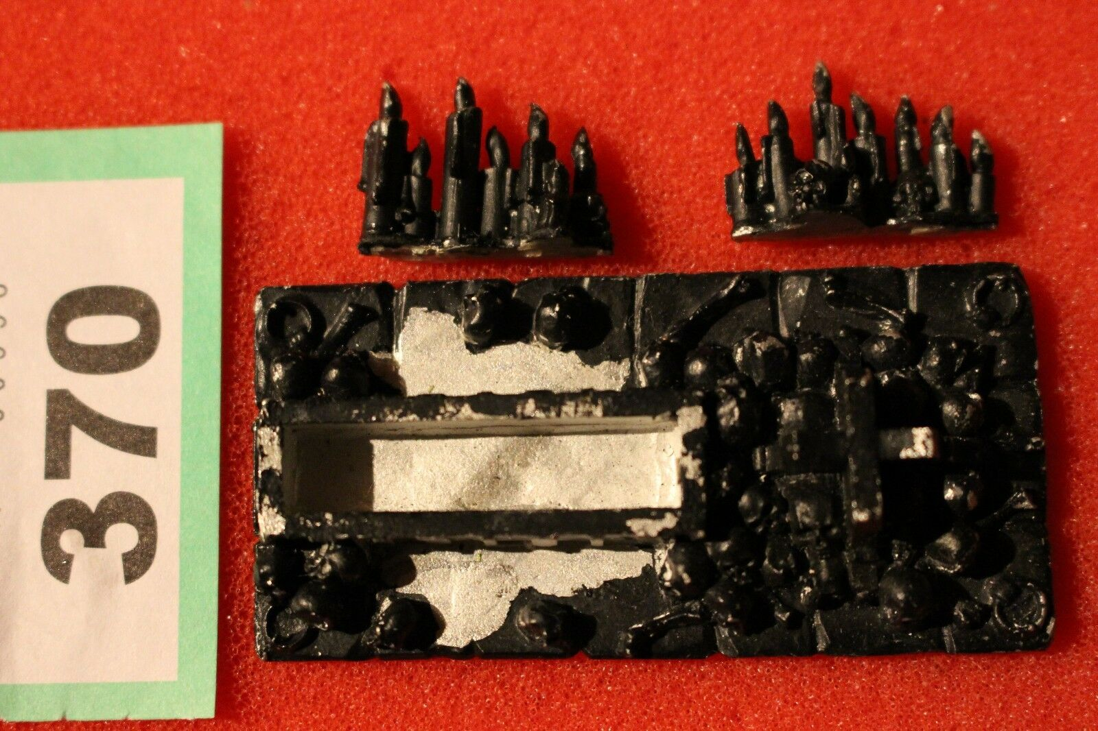 Games Workshop Warhammer Undead Chaos Scenery Sacrificial Altar Graveyard Metal