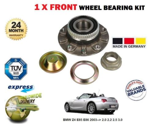 FOR BMW Z4 E85 E86 2.0 2.2 2.5 3.0 2003--/>  NEW 1 X FRONT WHEEL BEARING HUB KIT